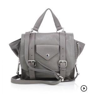 🎉EUC Linea Pelle Rowan mini leather messenger bag